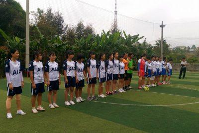 Đội tuyển bóng đá nữ  với hoạt động chào mừng ngày thành lập Đoàn TNCS Hồ Chí Minh