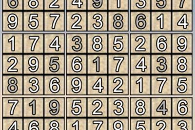 Giải ô số Sudoku kỳ 1, 2019-2020