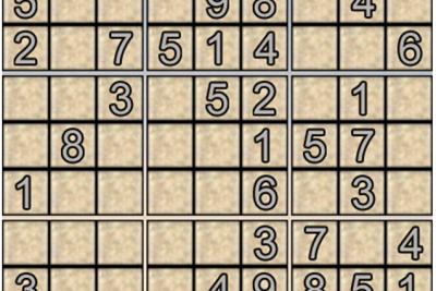 Ô số Sudoku kỳ 1