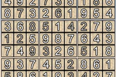 Giải ô số Sudoku kỳ 11