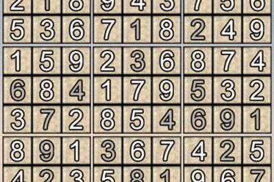 Giải ô số Sudoku kỳ 14