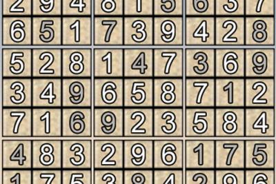 Giải ô số Sudoku kỳ 16