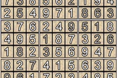 Giải ô số Sudoku kỳ 2, 2019-2020