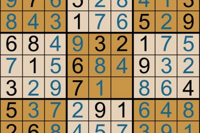 Giải ô số Sudoku kỳ 3, 2019-2020