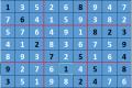 Giải ô số Sudoku kỳ 7