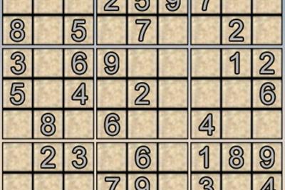 Ô số Sudoku kỳ 4