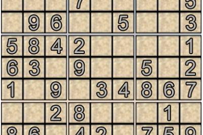 Ô số Sudoku kỳ 6