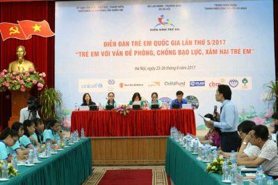 Thông điệp, kiến nghị – Diễn đàn trẻ em Quốc gia lần thứ 5